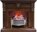 Готовый комплект Dimplex Sheffield с очагом Rothesay Brass в Калининграде