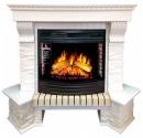 Портал Royal Flame Pierre Luxe белый сланец угловой для очага Dioramic 25 в Калининграде